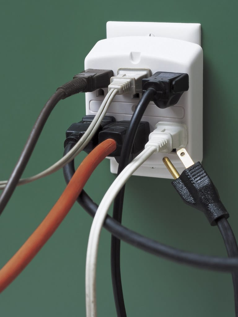 extension cord safety overloaded outlet