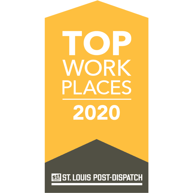 St. Louis Post Dispatch Top Workplaces 2020